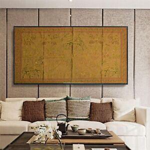 Sanskriti Vintage Handmade Tapestry Cotton Wall Hanging Bedspread Rug Home Decor