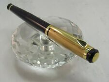 HIGH QUALITY HIGH QUALITY ETCHED GOLD AND BLACK ROLLER BALL PEN