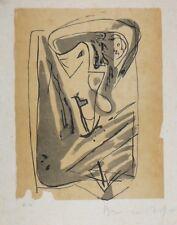 "Lithographie Originale de Bram Van VELDE,  ""  MP 185  """