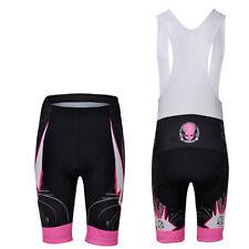 CHEJI Women's Cycling Bib Shorts Compression Padded Ladies Bike Shorts Bibs