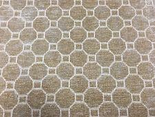 Kravet Beige Chenille Geometric Hexagons Upholstery Fabric 6.75 yds (31686-616)