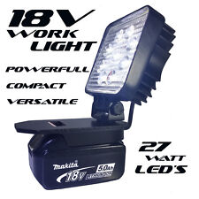 18V Li-ion Makita Adapt LED Light Compact Powerful Work Camping Photography