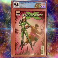MR & MRS X #1 Campbell 1:50 Retailer Variant CGC 9.8 NM+ RARE Marvel Comic