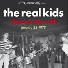 THE REAL KIDS - LIVE AT THE RAT! JANUARY 22 1978   VINYL LP NEW+