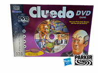Cluedo DVD Board Game Parker Games Hasbro 2005  -Boxed and Complete-