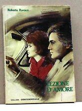 LEZIONE D'AMORE - R.Ranieri [libro, collana confidenziale]