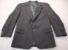 Hugo Boss Made in USA Mens Dark Navy Blue Wool Fully Lined Sportcoat Blazer 46