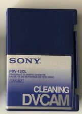 Sony PDVM-12CL DVCAM/HDV Mini Video Head Cleaning Cassette