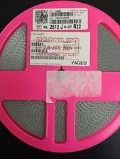 x4000pcs **NEW** YAGEO RL2512JK-07R22, Resistor Thick Film R22 Ohm 5% 1W