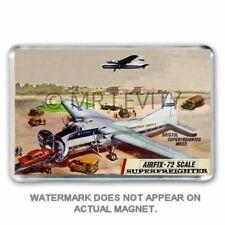 RETRO- AIRFIX 1/72 SCALE BRISTOL SUPERFREIGHTER KIT BOX ART JUMBO Fridge Magnet