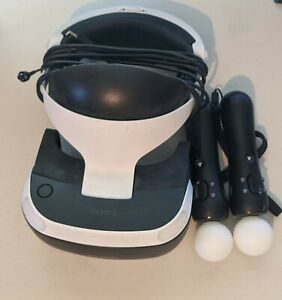 Sony PlayStation VR PS4 Virtual Reality Headset w/ Motion Controllers & Camera