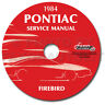 1984 Firebird and Trans Am Shop Manual on CD-ROM 84 Pontiac Repair Service