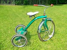 """Vintage Evans Tricycle  20"""" wheel  Troxel Seat WASHED & WAXED READY TO RIDE!!!"""