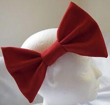 Diadema con grandes 7 Pulgadas Rojo Navidad gran arco de pelo para Damas Niñas Nuevo