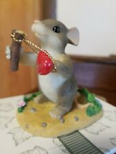 Charming Tails- Give Love A Shot Nib- 2000 Retired 2002 #84/109 Valentine'S Day