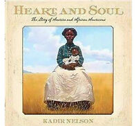 5 Books Heart & Soul African Americans, Earliest Americans, York's Adventures