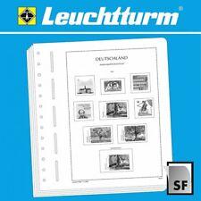 LEUCHTTURM SF Vordruckblätter DEUTSCHES REICH ZUSAMMENDRUCKE 1910-1932 (R1011)