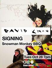 David Choe Book Snowman Monkey BBQ  dvdasa