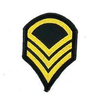 Patch embroidered military army rank stripes chevrons epaulet insignia wings