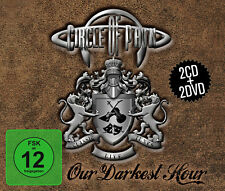 CD DVD circle of Pain Our Darkest Hour 2 CD +2 DVD