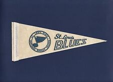 St. Louis Blues 1970's mini felt hockey pennant