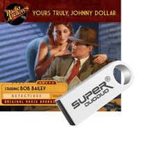 Yours Truly Johnny Dollar Old Time Radio Show OTR 720 Episodes - 16gb
