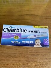 CLEARBLUE Advanced Digital Ovulation Test With Dual Hormone Indicator 10 Tests