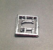 GMC CHROME Airhorns Horns 2 pieces spare parts HERPA PROMOTEX HO 1/87 scale 5334