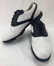 FOOT JOY Women's Contour Series Golf Shoes (98577)  Size 8 W Black/White