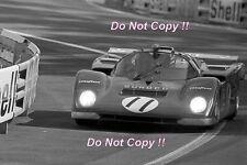 Mark Donohue & David Hobbs Penske Ferrari 512 M Le Mans 1971 fotografía 1
