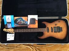 Tom Anderson Guitarworks Grand Am Strat Rare 1988 Quilted Maple TobaccoBurst Exc