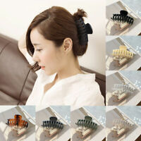 Women Girls Large Hair Clip Hair Claws Hair Clamp Geometric Hairpin Barrettes