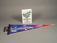 Baseball, Chicago Style Book with Bonus 2016 Cubs Pennant