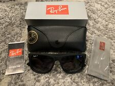 Ray-Ban RB4165 622/T3 54/16 Justin Classic Black Frame POLARIZED