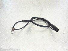1999 Yamaha YZF R6 YZF-R6 99 00 01 02 battery charging cable wire tested fuse