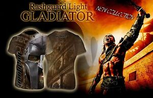 HighType Gladiator Rash Guard MMA BJJ Fightwear Compression Training