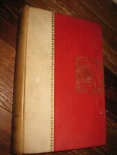 1892 The Marble Faun by Nathaniel Hawthorne Early printing volume 2 fine binding