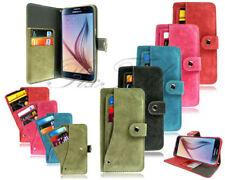 Fundas y carcasas de ante para teléfonos móviles y PDAs Samsung