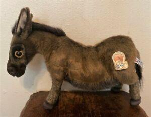 "HANSA Stuffed Animal Plush Doll - Standing Donkey Burro - 18"" - #3805"