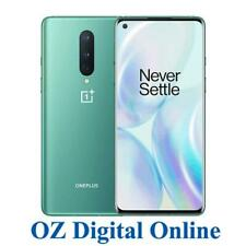 New OnePlus 8 IN2010 128GB Green 8GB 5G OxygenOS Unlocked One Plus Phone 1Yr Wty