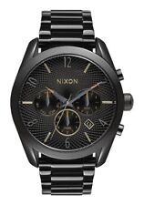 NIXON Bullet Chrono Women's Watch - A366 1616, All Black / Mixed