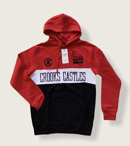 crooks and castles hoodie S
