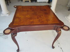 Vintage Hekman Lexington Card Playing Game Pub Table  SHIPPING NOT INCLUDED