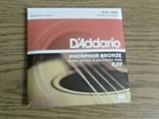 D'addario Acoustic Guitar Strings EJ17 Phos Bronze Med Gauge .013-.056(1pk)
