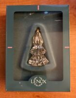 Vintage Lenox Crystal Tree Christmas Ornament Mint In Original Box Made In USA