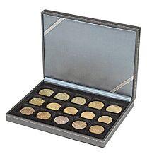 Lindner Nera Münz- Kassette XM mit 15 qu.Feldern für Münzen bis 40 mm (2363-15)