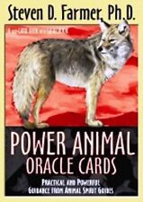 Power Animal Oracle Cards by Steven Farmer (NEW)