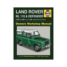 [3017] Land Rover 90 110 Defender 2.25 2.5 Diesel 83-07 (up to 56 Reg) Haynes Ma