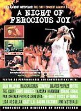 A Night of Ferocious Joy DVD Saul Williams, Mystic, Jerry Quickley
