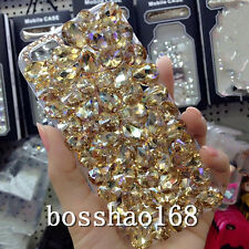 3D hard Case Cover Handmade Luxury Bling Jewelled Rhinestone Diamond Crystal e